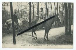 CPA - Chantilly - La Chasse à Courre - S.A.M. Le Prince Murat - Cheval,chevaux - Chantilly