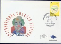 EC8-8 BOSNIA HERZEGOVINA 1998 FDC PHILEX 128 NATIONAL FESTIVALS, EUROPE CEPT. - Europa-CEPT