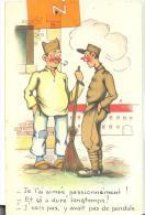 CPA Militaria ; Je L'ai Aimé .....de Pendule , Trés Bon état ( Voir Scan ) - Humoristiques
