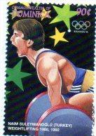 1996 Dominica - Olimpiadi Di Atlanta - Pesistica