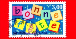 FRANCIA - Usato -  1997 - Buon Anno - Bonne Fete - Happy Birthday - 3.00 - Frankreich