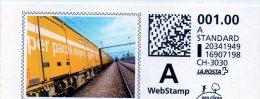 Svizzera - Webstamp (frammento) - Affrancature Meccaniche