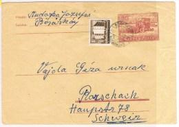 T3. Agriculture/Blé. Entier Hongrois = Moissoneuse. Cachet Faible= Bosara--- 1953 --. - Landwirtschaft