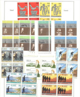 Irlande: Entre Yvert N° 450/1+453-60+462**; Fraicheur Postale; Voir Le Scan - Blocks & Sheetlets