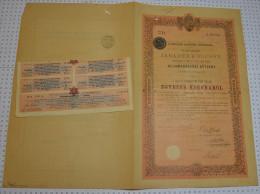 Royaume De Hongrie, Dette D'Etat - Banque & Assurance