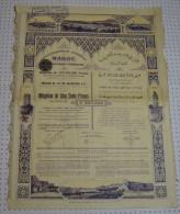 Gouvernement Imperial Du Maroc, Rabat En 1914, Tres Déco - Banque & Assurance