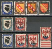 N°755° à 758° Avec Petites Variétés_voir Scan - Variedades: 1945-49 Usados