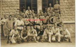 Carte Photo-soldats Du 106e Régiment D'infanterie - Guerre, Militaire