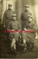 Carte Photo-soldats Du 41e Régiment D´infanterie - Guerre, Militaire