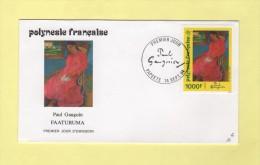 FDC - Polynésie - N°463 - Paul Gauguin - Faaturuma - Lettres & Documents