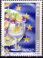 REPUBBLICA 2005 - EUROPA GASTRONOMIA - 1 VALORE USATO - PRIMA SCELTA - 2001-10: Usati