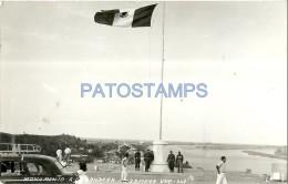 7021 MEXICO GOMEZ ZAMORA VERACRUZ MONUMENT TO THE FLAG POSTAL POSTCARD - Mexique