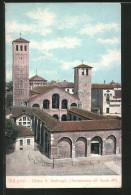 Cartolina Milano, Chiesa S. Ambrogio - Milano (Milan)