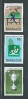 Barbados 1983 Table Tennis World Cup Set 3 MNH - Barbados (1966-...)