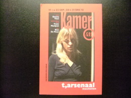 CARTA POSTAL PUBLICITARIA Cine HABITACION 411 - CARTE PUBLICITAIRE FILM CHAMBRE 411 - KAMER 411 - Publicidad