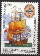 Vessel Ship Caravel Postal Service Espamer Expo URUGUAY Sc#1739 MNH STAMP Cv$4.5 - Boten