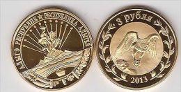 ADIGEYA 3 Rubles 2013, Unusual Coinage - Monete