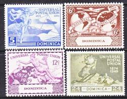 DOMINICA  116-9  *   UPU - Dominica (...-1978)