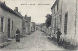 89 - NEUILLY - Yonne - Rue Chambault - Francia