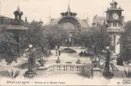 EVIAN LES BAINS - 74 -     Terrasse De La Buvette Cachat -   VAN - - Evian-les-Bains