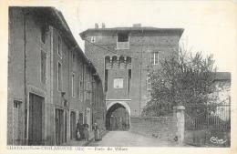 Chatillon-sur-Chalaronne (Ain) - Porte Du Villars (ou De Villars) - Carte CIM, Animée - Châtillon-sur-Chalaronne