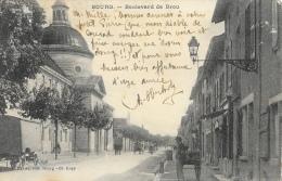 Bourg (Ain) - Boulevard De Brou - Edition Ravier - Bourg-en-Bresse