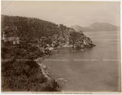 MASSA LUBRENSE- Campania.Panorama Conl'isola Di Capri. Ed. Alinari. - Non Classificati