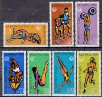 Bulgarien / Bulgaria - Mi-Nr 2501/2507 Postfrisch / MNH ** (w504) - Estate 1976: Montreal