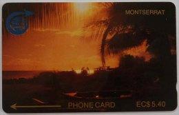 MONTSERRAT - GPT - 1st Issue - 1990 - Sunset - 2CMTA - $5.40 - 1000ex - MON 2A - Mint
