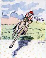 Les Chefs D´oeuvre De La Carte Postale NEUDIN,ADECA,tirage Limité 1000ex 1977 Caran D'Ache Collection Des Cent,cavalier - Hansi