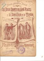 Deux Célébres Duos. Hervé & Mangeant. - Partitions Musicales Anciennes