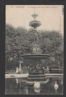 DF / 62 PAS DE CALAIS / CALAIS / LE BASSIN DU PARC SAINT-PIERRE / ANIMÉE / CIRCULÉE EN 1906 - Calais