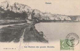 BELGIQUE - NAMUR - LES ROCHERS DES GRANDS MALADES - CARTE PRECURSEUR - - Namur