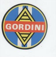 RENAULT GORDINI Autocollant - Autocollants