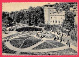 [DC5455] CARTOLINA - TORINO - PARCO DEL VALENTINO - CASTELLO MEDIOEVALE - Non Viaggiata - Old Postcard - Parcs & Jardins