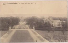 BELGIQUE,BELGIUM,BELGIE,BELGICA,BRUXELLES-LAKEN,chateau Royal,parc,trés Belle Vue,rare - Foreste, Parchi, Giardini