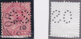 Australien South Australia Dienst Perfin OS - 1855-1912 South Australia