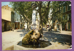 GRANS - Cours C. Pelletan Solex Carte Circulé 1970 - Autres Communes