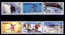 Anguilla-002 - 1980 - SG: N. 389/394 (++)MNH - Privi Di Difetti Occulti. - Anguilla (1968-...)