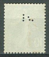 FRANCE - PERFORÉS 1921-22: YT 159, O PERFIN Sigle? Monogramme? - LIVRAISON GRATUITE A PARTIR DE 10 EUROS - France
