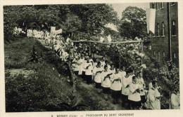 COREE-WONSAN-  -beau Plan Animé--procession Du Saint Sacrement-années 20 - Corée Du Sud