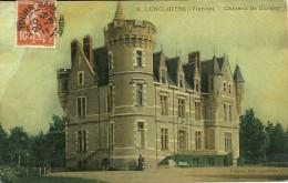 86 Vienne LENCLOITRE Chateau De Cursay - Lencloitre