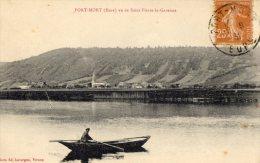 Port Mort Vu De Saint Pierre La Garenne 1931 (LOT T5) - Autres Communes