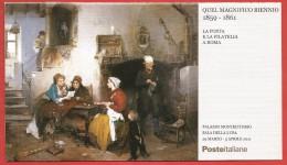 """ITALIA REPUBBLICA LIBRETTO MNH - 2011 - Mostra Filatelica """"Quel Magnifico Biennio 1859 -1861"""" - € 0,60 X 10 - U. L27 - 6. 1946-.. República"""