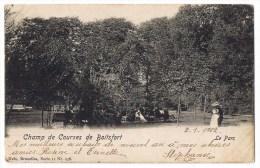 Watermael Watermaal Boitsfort Bosvoorde Boisfort Hippodrome Champ De Courses Le Parc 1902 - Watermael-Boitsfort - Watermaal-Bosvoorde