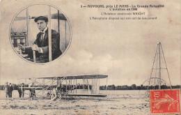 ¤¤  -   CHAMPAGNE   -  AUVOURS , Près Le Mans  - L'Aviateur Américain WRIGHT  -  Aviateur , Aviation , Avion - France