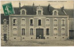 Lorris La Gendarmerie  Gendarme Edit Boudeau Coll. Marchand Sully - Autres Communes