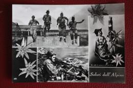 1959 SALUTI DALL' ALPINO - Manovre