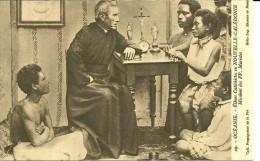 NOUVELLE CALEDONIE ELEVES CATECHISTES MISSIONS PP MARISTES RELIGION OCEANIE - Nouvelle-Calédonie