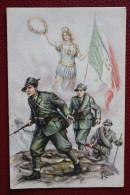 ALPINI CON ITALIA // Disegno COLLINO - Manovre